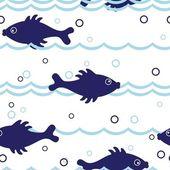 Varrat nélküli halat minta