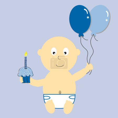 Baby Boy's First Birthday