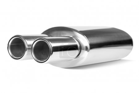 Sports exhaust pipe for the car