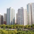 Modern apartment buildings in China...