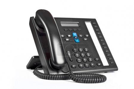 Black office IP Phone