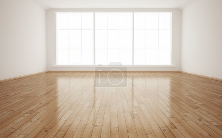 Photo for Bright Interior Empty Room 3D render - Royalty Free Image