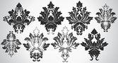 Ancient Art Of Fashionable Damask Shapes