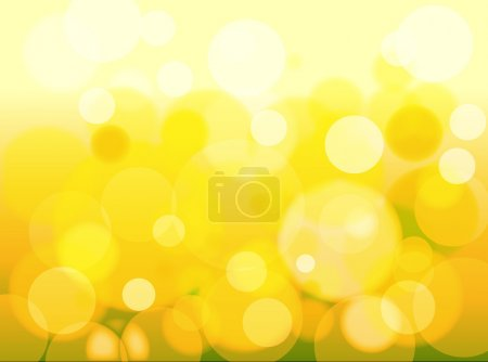 Illustration for Creative Decor Design of Colorful Fresh Bright Bokeh Background - Royalty Free Image