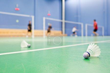 Photo pour Badminton - image libre de droit