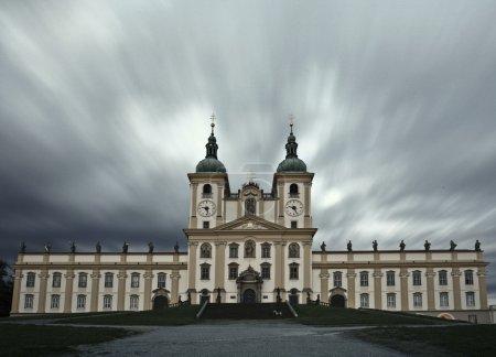 Splendid baroque basilica of Holy Hill near Olomouc