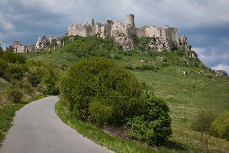 Spissky hrad castle in Slovakia