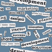 Seamless business paper torn piece background