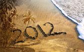 2012 rok na pláži