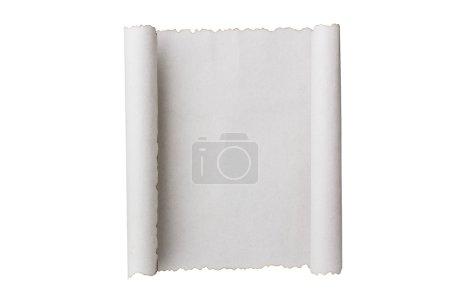 Antique paper scroll