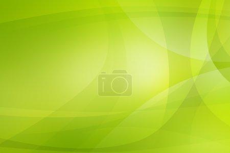 Photo pour Feu vert fond abstrait - image libre de droit