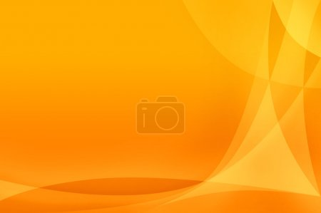 Photo for Simpe Orange abstract backgound - Royalty Free Image