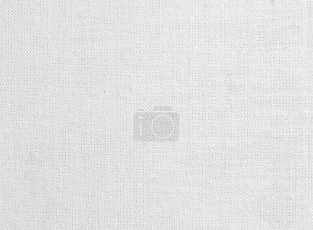 Photo pour Texture ou fond de toile blanche - image libre de droit