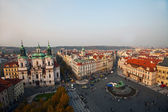View from tower on old town square