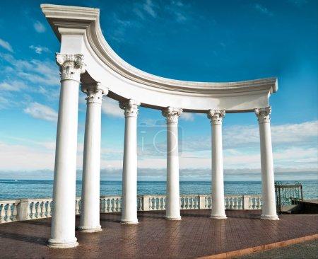 Ancient Greek columns