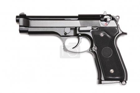 Modern U.S. Army handgun M9.