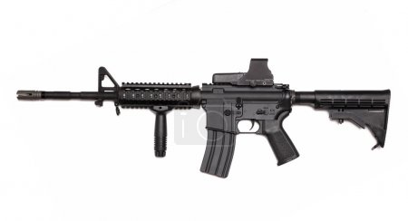 Modern weapon series. US Army M4A1 Carbine with ta...