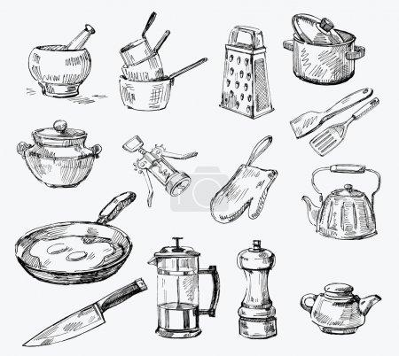 Seamless pattern-hand drawn