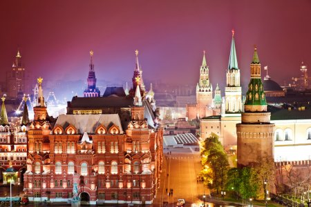 Red Square and Kremlin