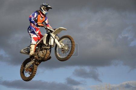 The spectacular jump moto racer