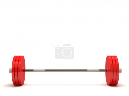 Weight Isolated on White Background