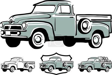 Vintage pick up truck