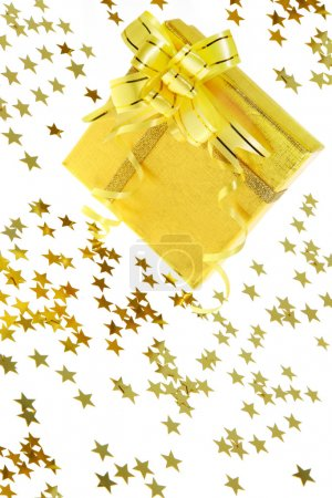 Gift box with stars