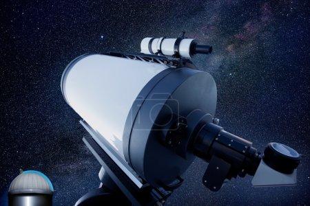Astronomical observatory telescope stars night