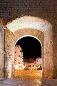 Ibiza castle fort door to Dalt Vila in Eivissa
