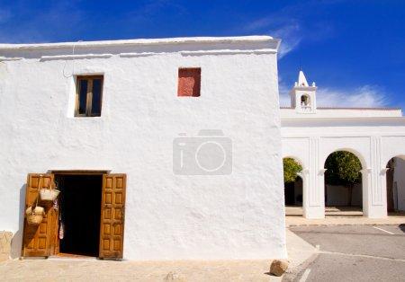 Ibiza San Miguel de Balansat white church