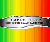 Abstract rainbow background with place for your text