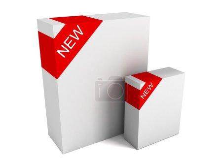 New product white box