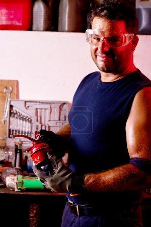 Mechanic male