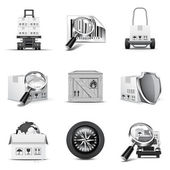 Logistic and cargo icons | Bella series