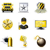 Banking security icons | Bella series