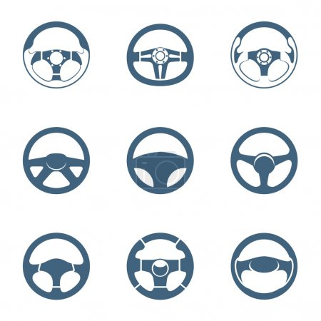 Steering wheel icons | Piccolo series