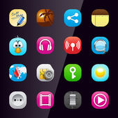 Mobile phone application icons part 3