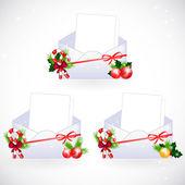 Obálky s Vánoční dekorace