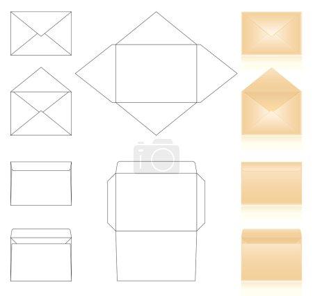 Envelopes templates