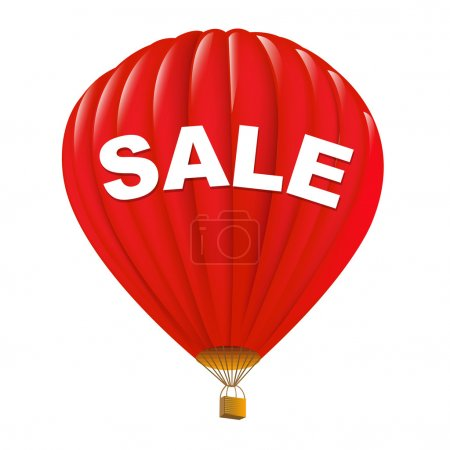 Red Sale Hot Air Balloons