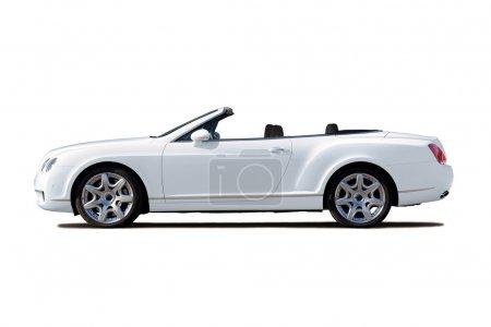 White cabriolet
