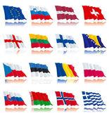 Norway Belarus Finland Romania Greece Slovakia Slovenia Lithuania Estonia Herzegovina Switzerland Netherlands Denmark Bulgaria Austria England