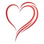 Simple heart design