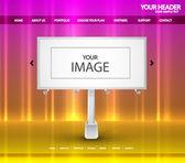 Billboard webová stránka