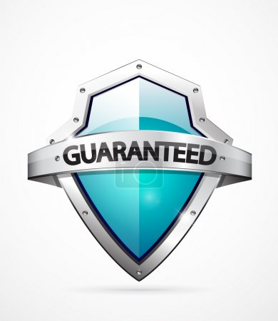 Illustration for Vector guarantee icon. Realistic high detailed symbol - Royalty Free Image
