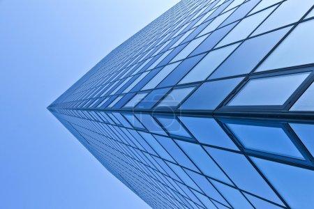 Glass facade of Modern skyscraper