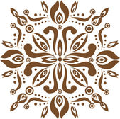 Traditional wood craft pattern