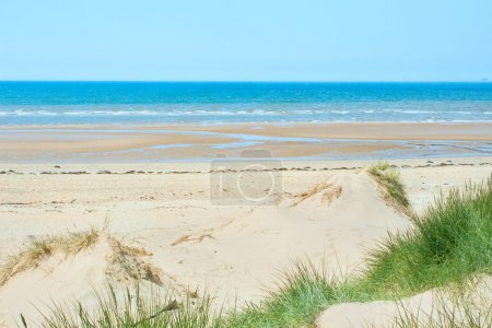 Sand beach of Formby near Liverpool, the North West Coast of Eng