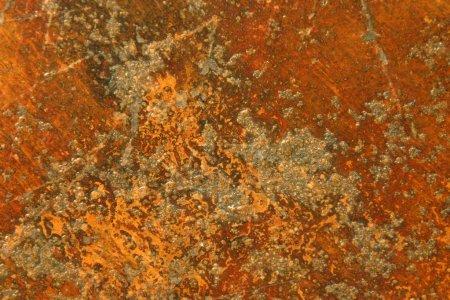 Photo pour Surface ou texture rugueuse en métal brun rouillé grunge ou fond iiron - image libre de droit