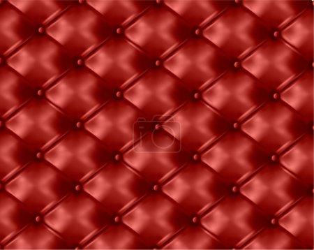 Photo pour Fond texture cuir rouge. Illustration vectorielle . - image libre de droit